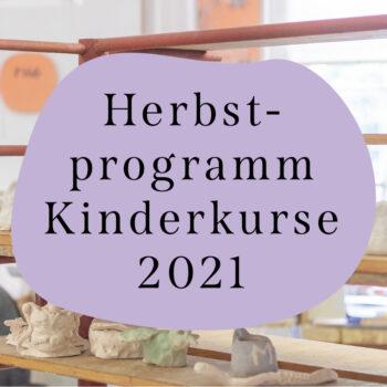 Herbstprogramm Kinderkurse 2021